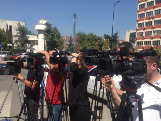 tv-crews-covering-event-in-pristina