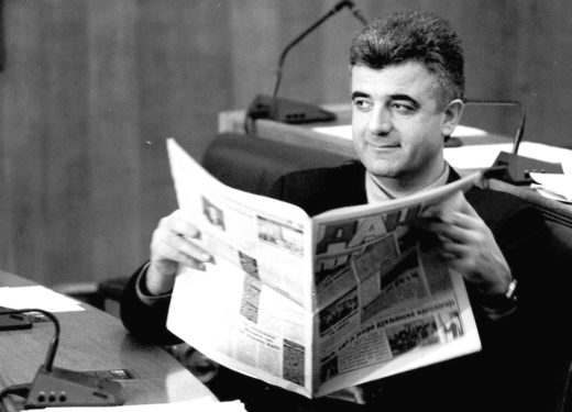 Mediji dnevni list dan Dusko Jovanovic